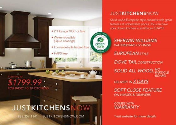 Photo For Just Kitchens Now