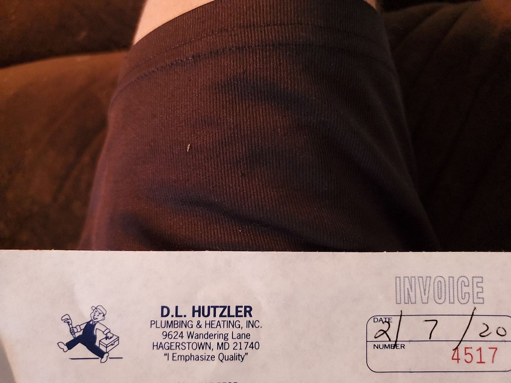 Hutzler D L Plumbing & Heating: 9624 Wandering Ln, Hagerstown, MD