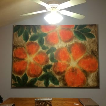 Photo Of Furniture Row Outlet   Omaha, NE, United States. Muted Floral  Canvas