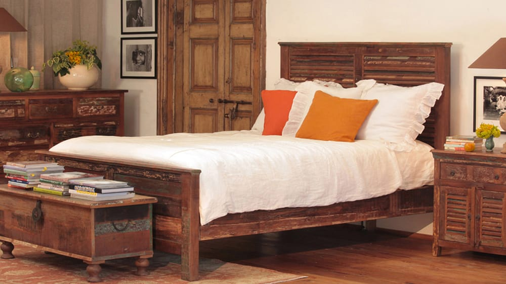 Photo of Sacred Space Imports - San Marcos, CA, United States. Nantucket  reclaimed - Nantucket Reclaimed Wood Bedroom Set. King, Queen And Twin