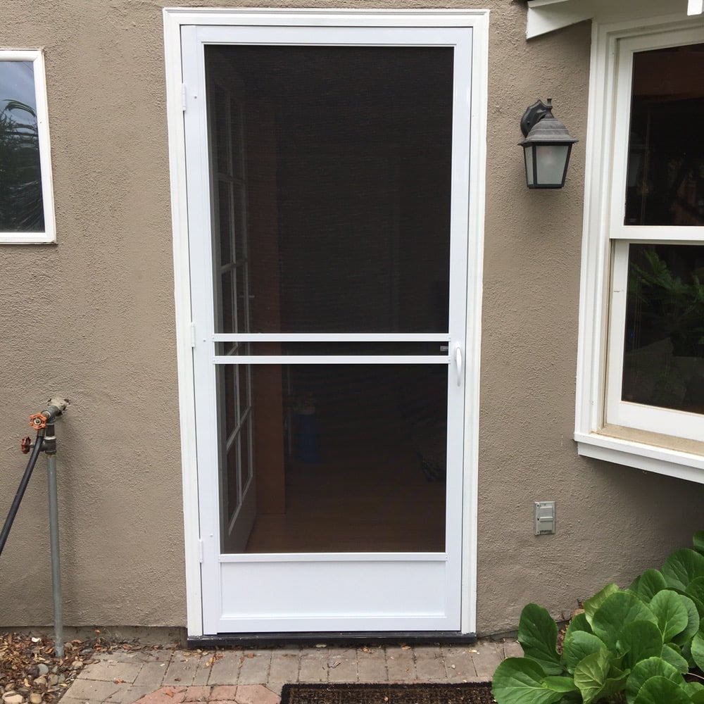 Swinging Screen Door Keep The Breeze In And The Bugs Out Yelp