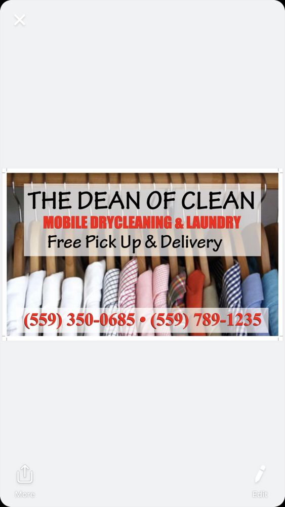 The Dean of Clean Mobile Dry Cleaning: Lindsay, CA