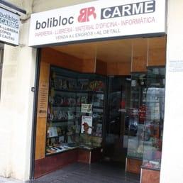 Bolibloc carme material de oficina carrer de llull for Oficina ups barcelona