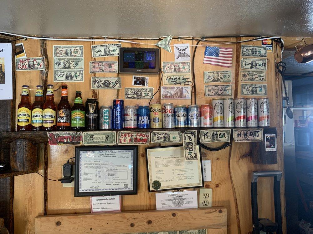 Shotgun Bar: 3519 Yale Kilgore Rd, Island Park, ID