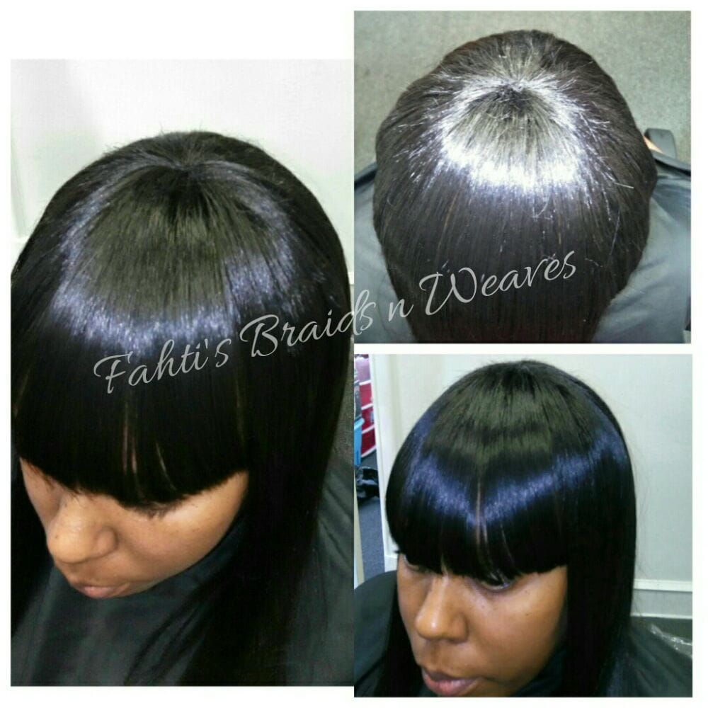 Full Head Sew In Weave With Bang Sew In Weave Remy Hair Yelp