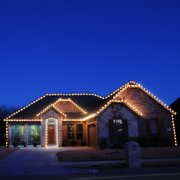 Christmas Lights In Photo Of Rockwall Lighting Tx United States