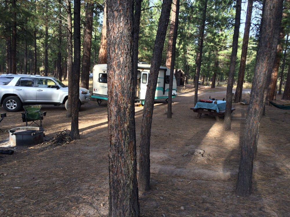 Jemez Falls Campsite: Jemez Springs, NM