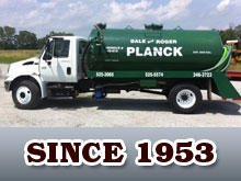 Dale Roger Plank Septic Tank Cleaning: 370 N County Rd 650 W, North Vernon, IN
