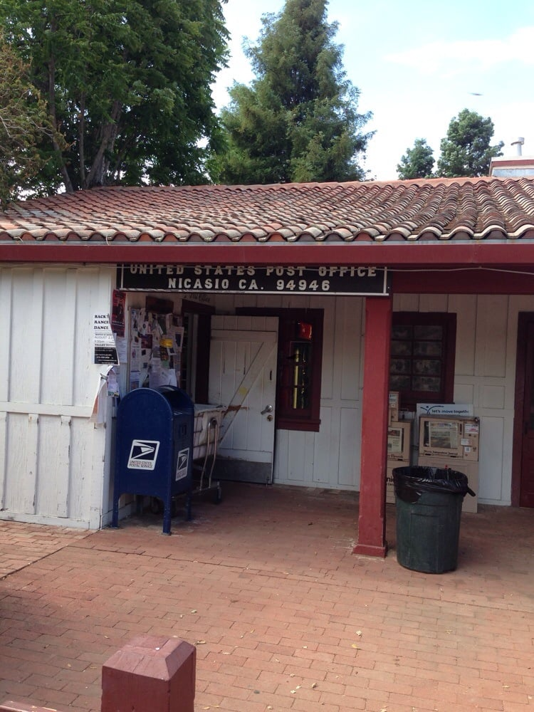 US Post Office: 1 Old Rancheria Rd, Nicasio, CA