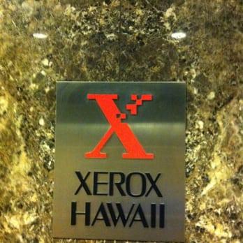 Xerox Corporation - Office Equipment - 700 Bishop St