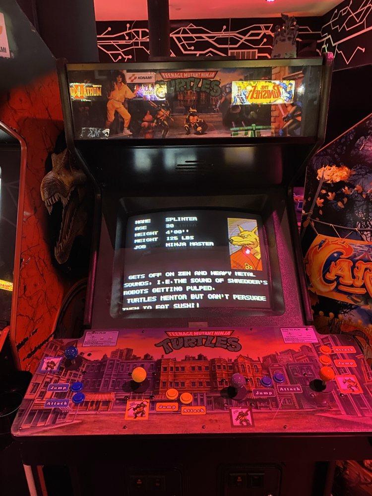 Reboot Arcade Bar: 534 N Liberty St, Winston-Salem, NC