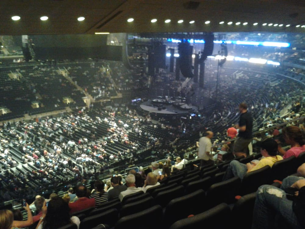 view from our seats for Billy Joel concert Yelp
