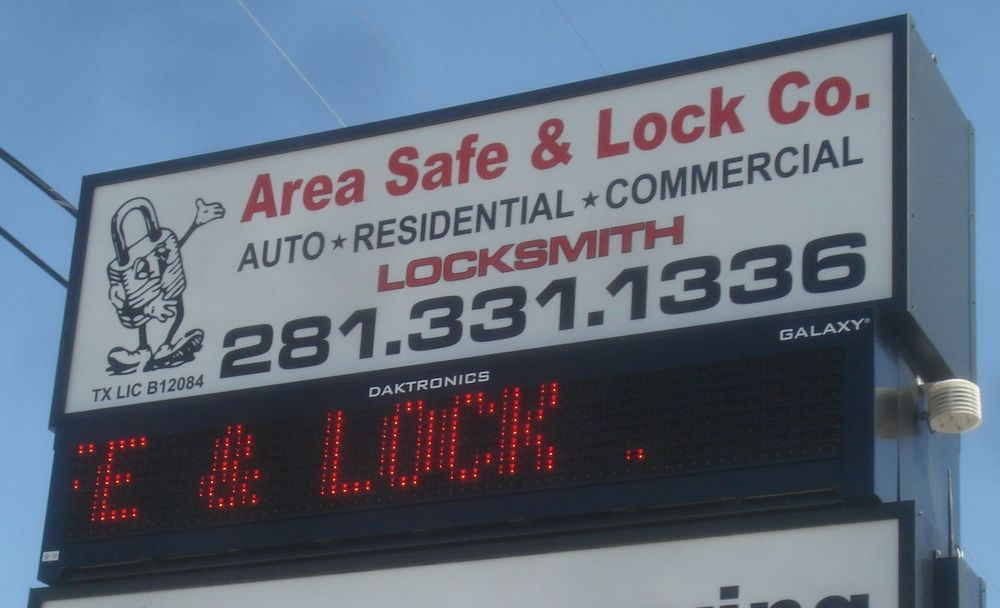 Area Safe & Lock: 2004 S Gordon St, Alvin, TX