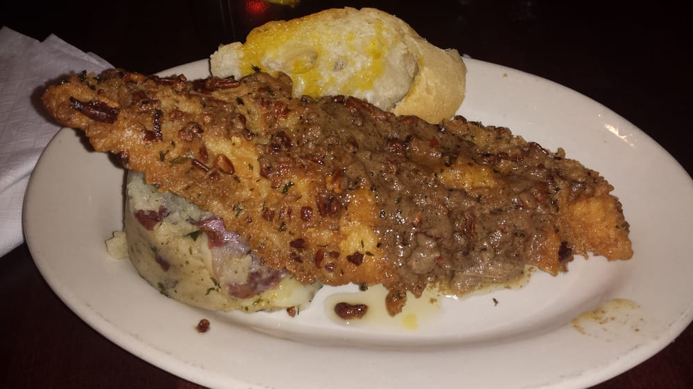 ... Food and Spirits - Harvey, LA, United States. Pecan crusted catfish