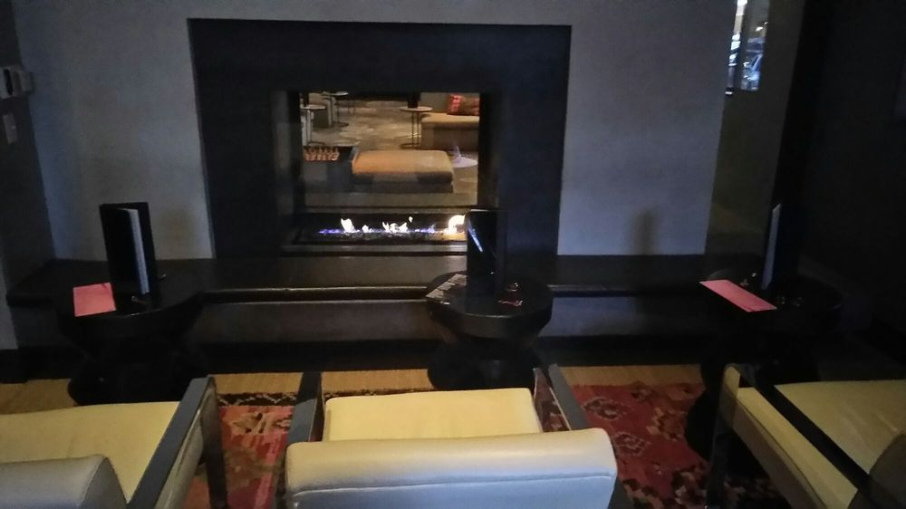 One Of The Fireplaces Yelp