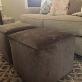 Photo Of Havertys Furniture Greenville Sc United States Cube Ottomans Solid