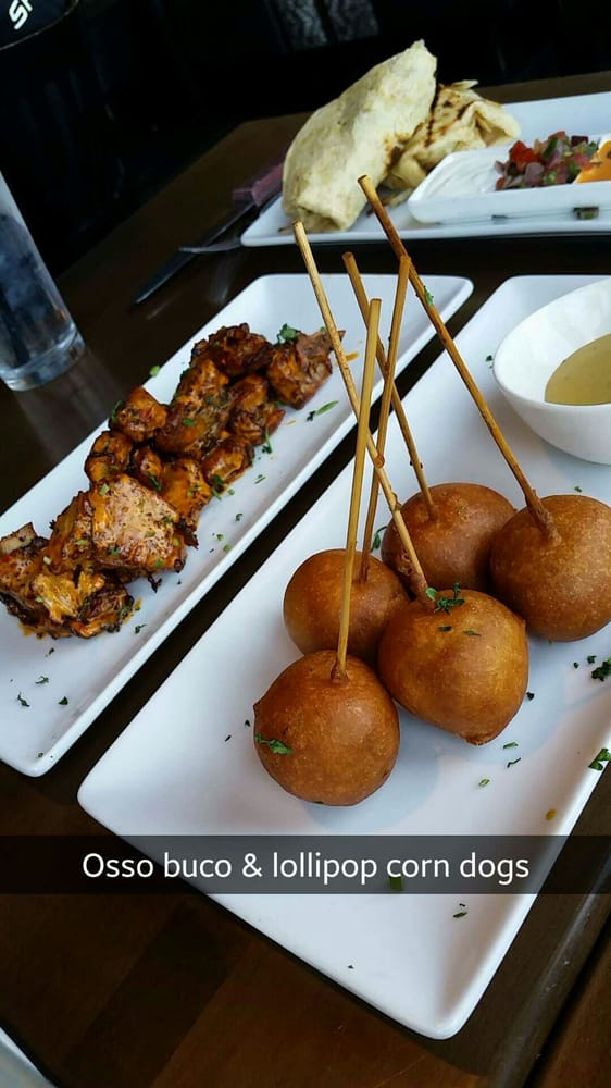 Osso buco riblets & lollipop corn dogs - Yelp
