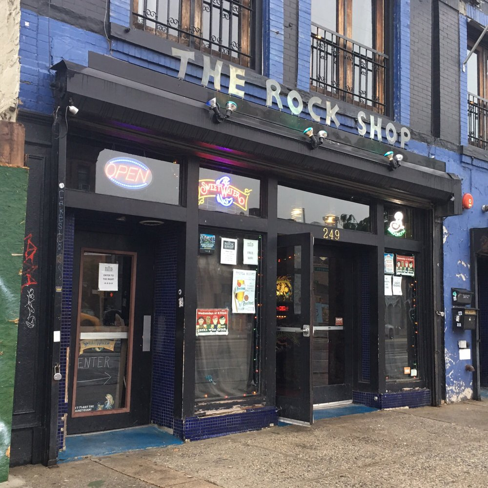 Photo of The Rock Shop - Brooklyn, NY, United States. @bigmovie // The Rock Shop storefront