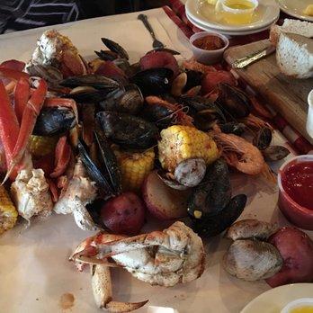 Crab Pot Seafood Restaurant Long Beach Ca