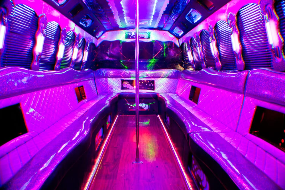 All Diamond Party Bus Service Limos 1616 N Garfield Pl Hollywood Los An