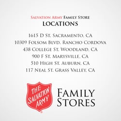 photo of the salvation army family store donation center auburn ca united