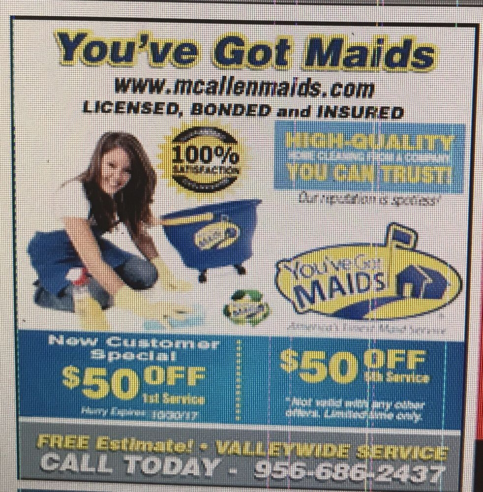 You've Got Maids: 3000 N McColl Rd, McAllen, TX