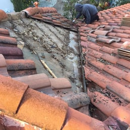 Photo Of H A G Roofing   San Antonio, TX, United States. Tile Roof Repair