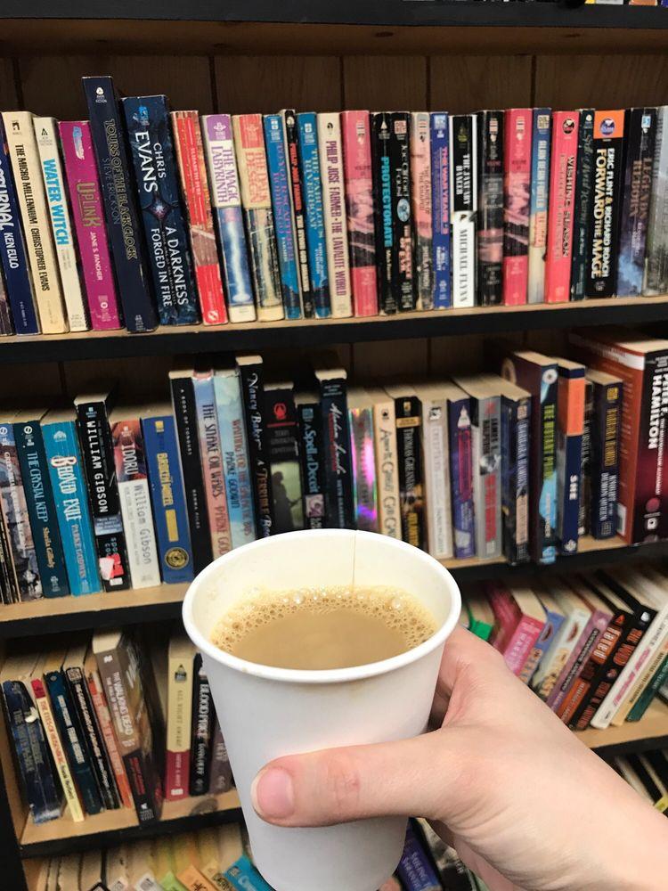 Press Books, Coffee and Vinyl