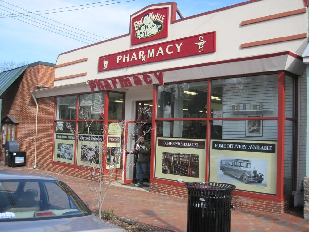 Brookville Pharmacy: 7025 Brookville Rd, Chevy Chase, MD