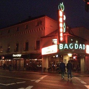 Bagdad Theater Food Menu