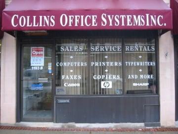 Collins Office Systems: 1193B Massachusetts Ave, Arlington, MA