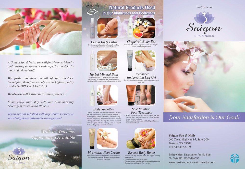 Saigon Spa & Nails: 606 State Hwy 95, Bastrop, TX