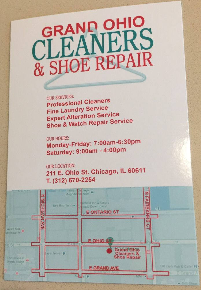 Grand Ohio Cleaners Shoe Repair