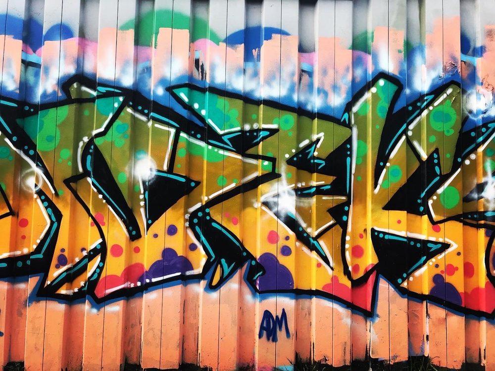 Cabbagetown Graffiti Murals: Atlanta, GA