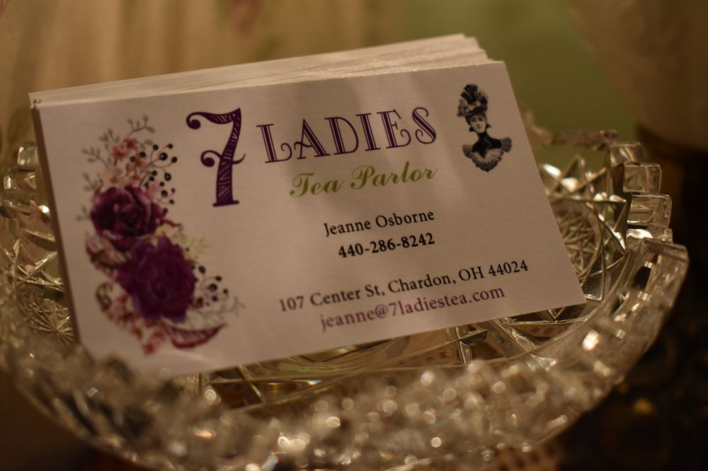 7 Ladies Tea Parlor: 107 Center St, Chardon, OH