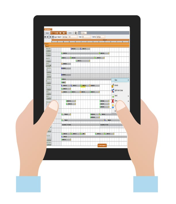 digital work orders timesheet management dispatch and scheduling