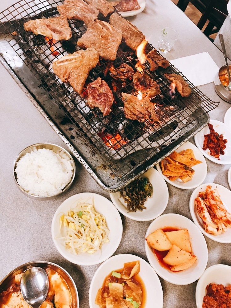 Wooden Charcoal Korean Village Barbecue House