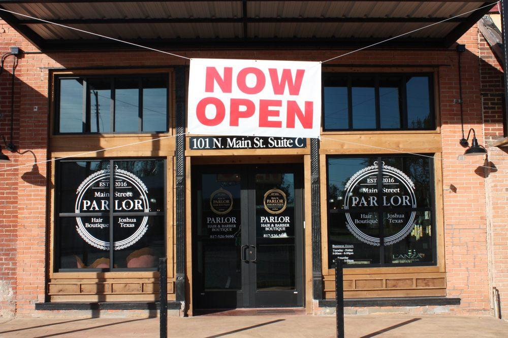 Main Street Parlor: 101 N Main St, Joshua, TX
