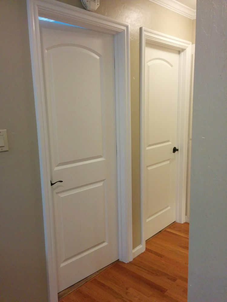 New Interior Doors And Trim Painted And Installed By Luis Yelp