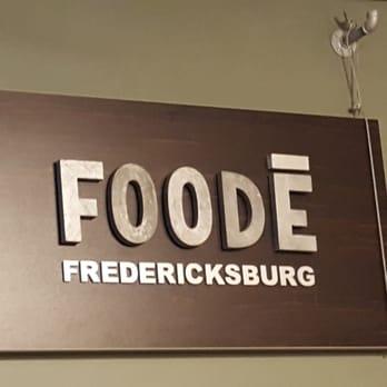 Foode Fredericksburg Lunch Menu