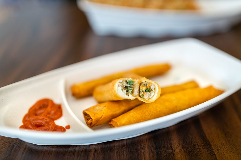 Food from Little Manila Lumpia House