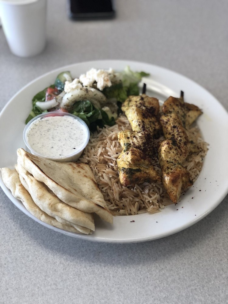Food from Mediterranean Kebab House