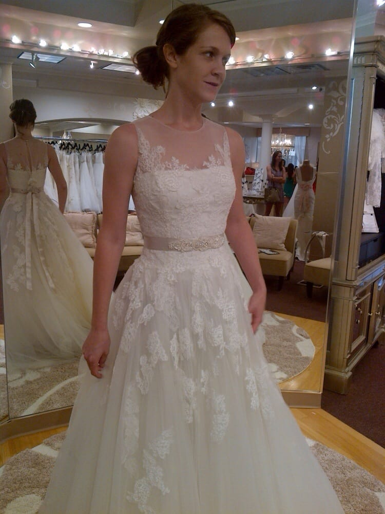 Trying on wedding gowns yelp for Wedding dresses spring tx