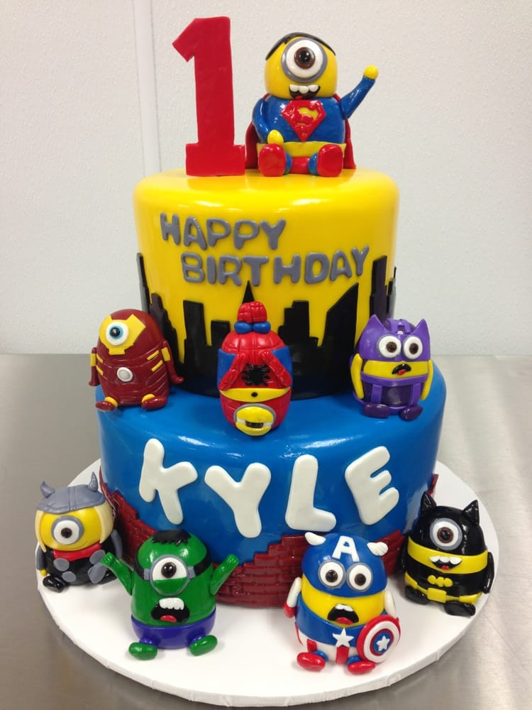 Super Hero Minions Yelp