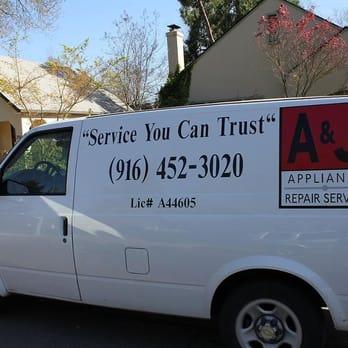 A Amp J Appliance Repair Service 221 Reviews Appliances
