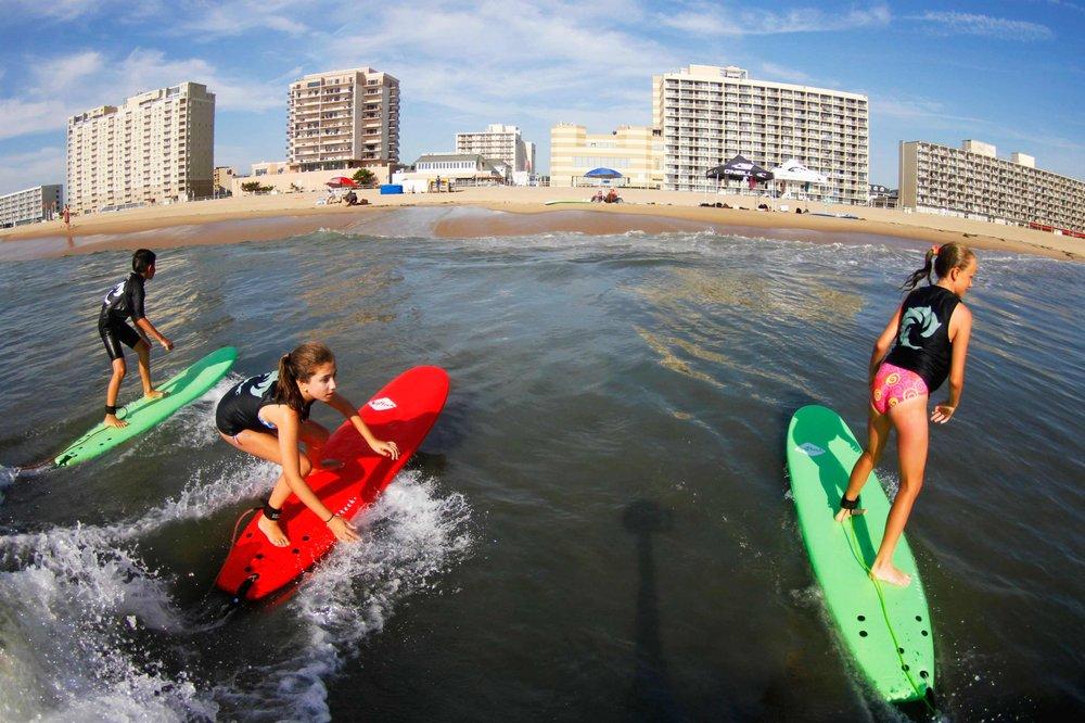 WRV Surf Camp: 5TH St Atlantic Ave, Virginia Beach, VA