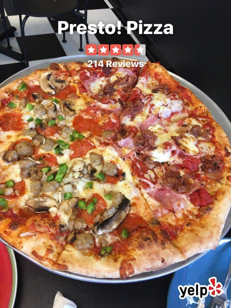 Presto! Pizza: 4135 Merchant Plz, Lake Ridge, VA