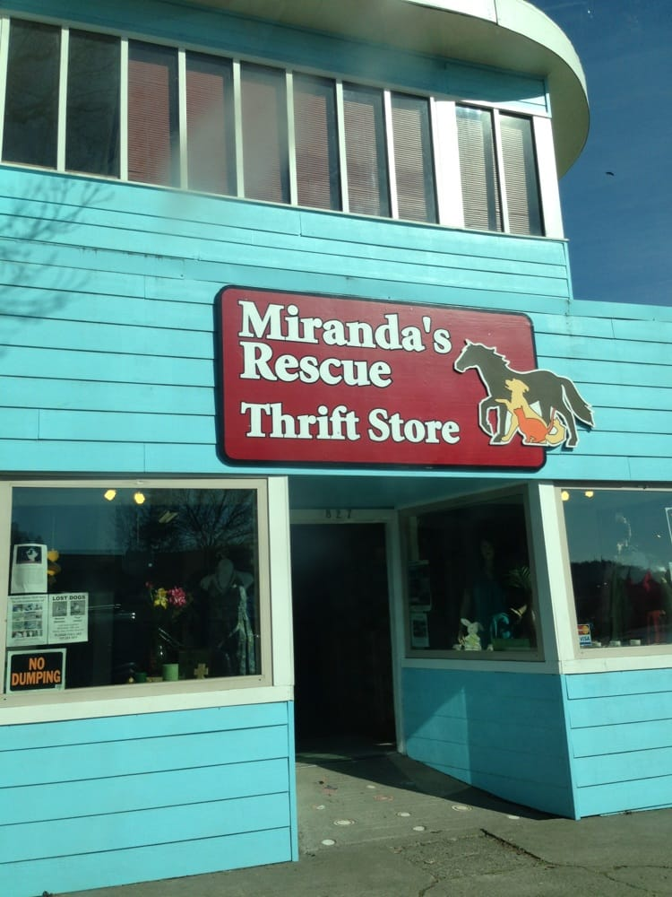 Miranda's Rescue Thrift Store: 827 Redwood Dr, Garberville, CA
