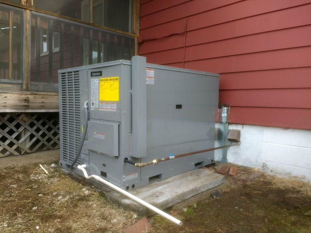 20018 AMERISTAR 14 SEER, Gas Heat, 410A Air Conditioning