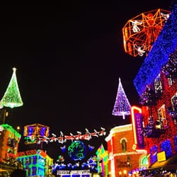 photo of the osborne family spectacle of dancing lights lake buena vista fl - Hollywood Studios Christmas Lights